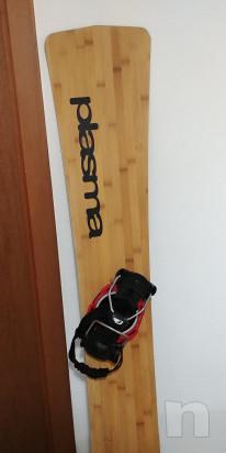 Tavola Snowboard hard Plasma 174 Bamboo! foto-33540