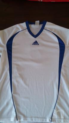 T-shirt ADIDAS da calcio, Originale foto-17560