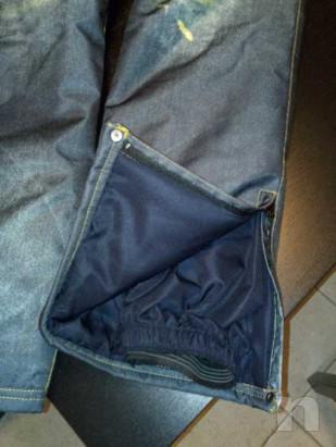 Pantaloni da sci uomo effetto jeans foto-33674