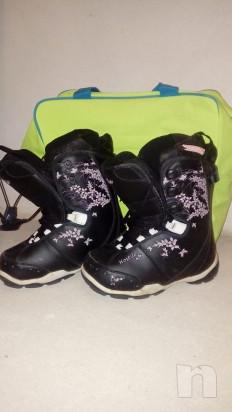 Tavola snowboard Hostile e scarponi foto-33839