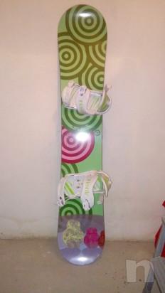 Tavola snowboard Hostile e scarponi foto-17649