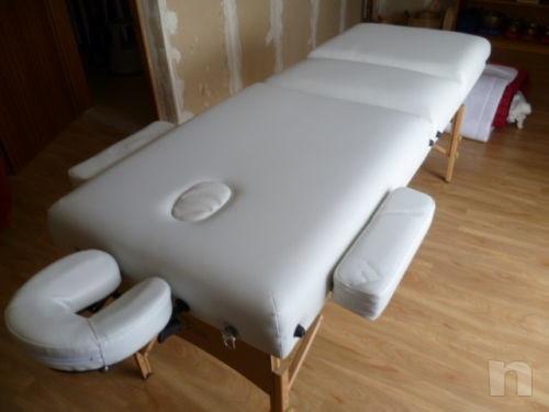 Lettino da massaggio pieghevole fisioterapia tatuaggio studio medico estetica foto-33939