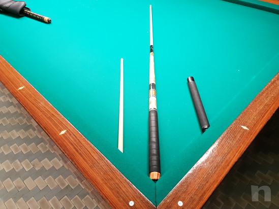 Ottima stecca joker modello Montereali con 2 puntali prolunga e custodia originale  foto-33942