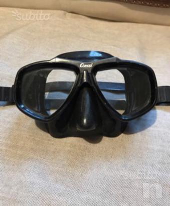 Maschera Cressi + pinne foto-17746