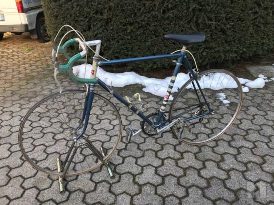 Bicicletta da corsa epoca eroica foto-34030