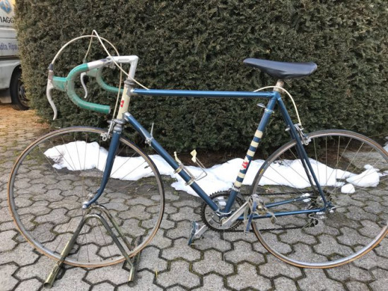 Bicicletta da corsa epoca eroica foto-17752