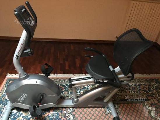 Cyclette orizzontale JK Fitness Performa 2600 foto-17768