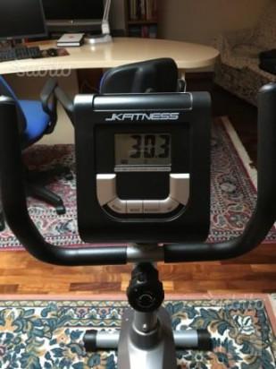 Cyclette orizzontale JK Fitness Performa 2600 foto-34072