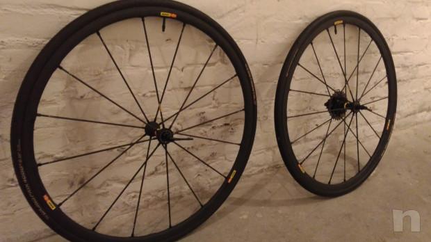 Set ruote Mavic R-Sys Slr carbonio per copertoncino foto-17793