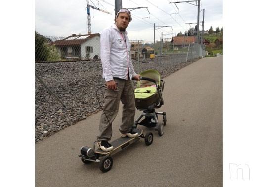 Skateboard Power board Glide GI elettrico Nuovo foto-17794