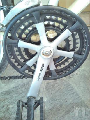 Bicicletta da corsa in stile retrò foto-34421