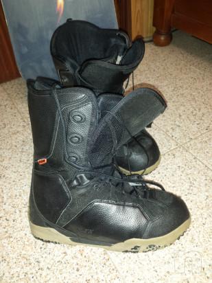 Tavola snowboard Burton Custom 158 attacchi e scarponi Flow foto-34461
