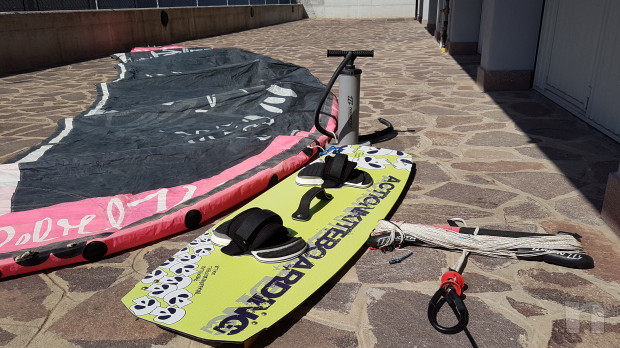 KITESURF COMPLETO NORTH REBEL 12 mt + TAVOLA  foto-17966