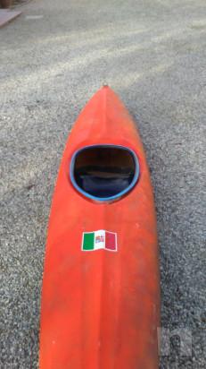 kayak con pagaia foto-34580
