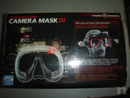 Maschera SUB con Telecamera/Foto foto-34686