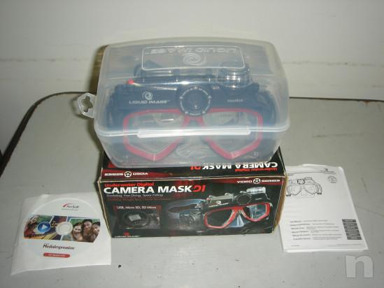 Maschera SUB con Telecamera/Foto foto-34685