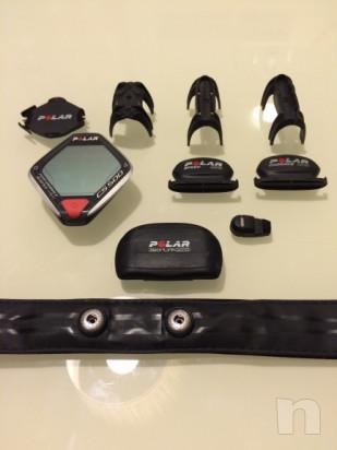 Cardiofrequenzimetro polar CS500 completo di accessori foto-18046