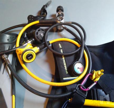 Attrezzatura completa per immersioni foto-34785