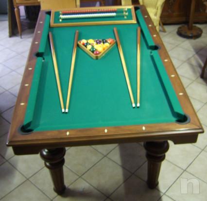 Tavolo biliardo trasformabile foto-34809