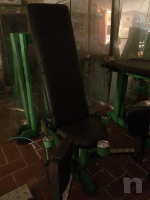 Macchine ad aria compressa leg extension e adductor foto-35099