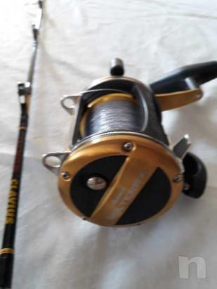 canna e mulinello  da traina   foto-35114