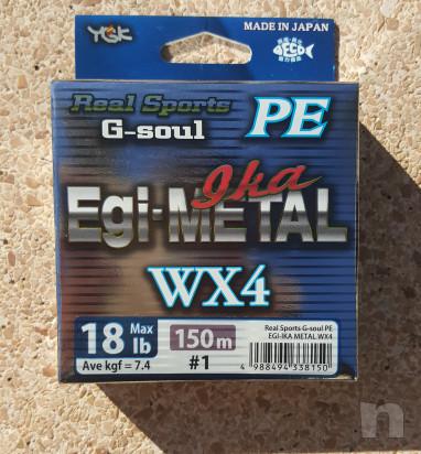 Trecciato Made in Japan YGK G-soul PE Egi-Metal Ika WX4 foto-35361