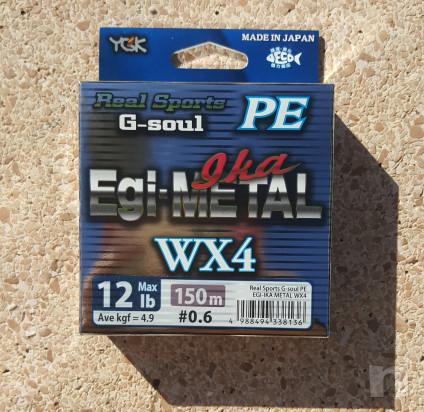 Trecciato Made in Japan YGK G-soul PE Egi-Metal Ika WX4 foto-35360