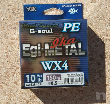 Trecciato Made in Japan YGK G-soul PE Egi-Metal Ika WX4 foto-35359