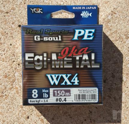 Trecciato Made in Japan YGK G-soul PE Egi-Metal Ika WX4 foto-35358