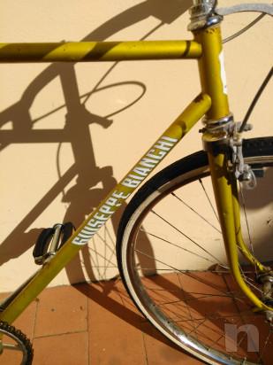 Bici Giuseppe Bianchi anni '70 foto-35439