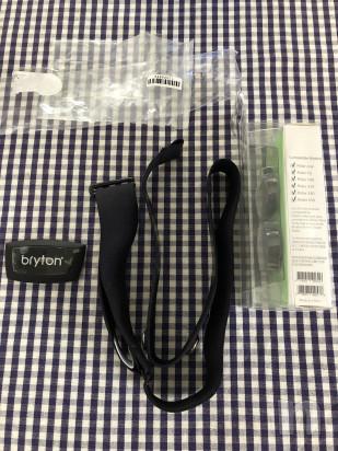 Fascia cardio + sensori velocità e cadenza Bryton foto-35441