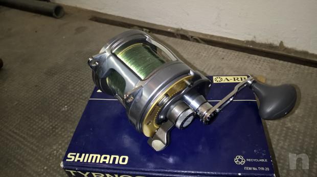 Traina canna + mulinello Shimano foto-35458