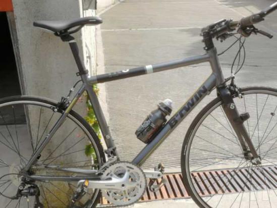 Bicicletta ibrida da corsa modello BTWIN come nuova foto-18422