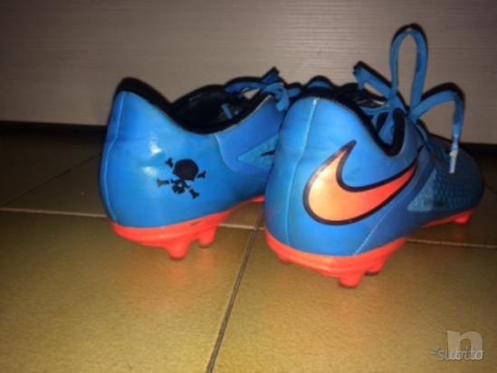 Nike hypervenom blu e arranco scarpe da calcio foto-35523
