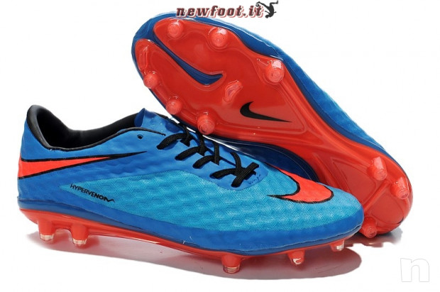 Nike hypervenom blu e arranco scarpe da calcio foto-18434