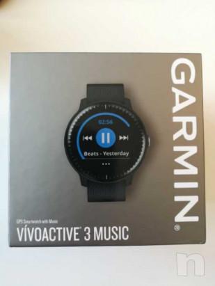 Garmin Vivoactive 3 Smartwatch GPS con Profili Sport, Sensore Cardio e Pagamento Contactless, Nero foto-35605