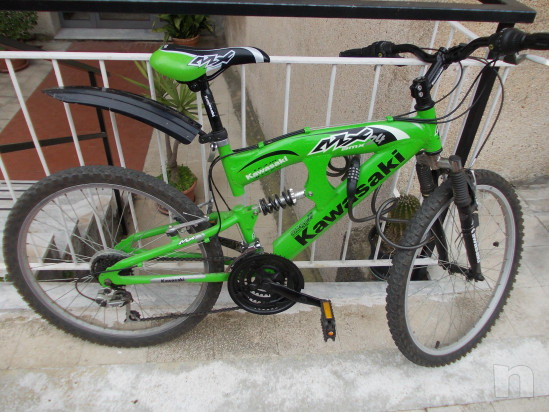 Bicicletta MTB kawasaky 24