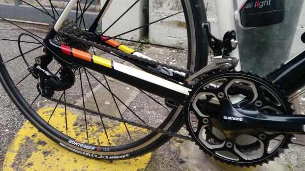 Bici da Corsa Trek Madone 4 carbonio 11 velocità foto-36028