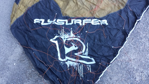 Kite completo flysurfer  foto-3087