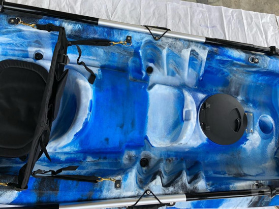 Kayak Sanblas twin tour 1-2-3 posti winter camo  foto-36401