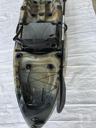 Canoa Sanblas Rocky da pesca con seduta alta foto-36405