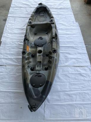 Canoa Sanblas Rocky da pesca con seduta alta foto-36404