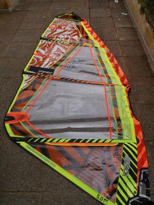 Vela windsurf rrd vogue 5m foto-18914