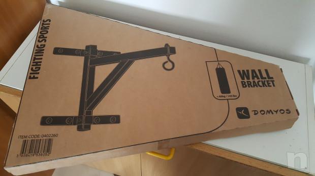Sacco da boxe   supporto da parete foto-36614