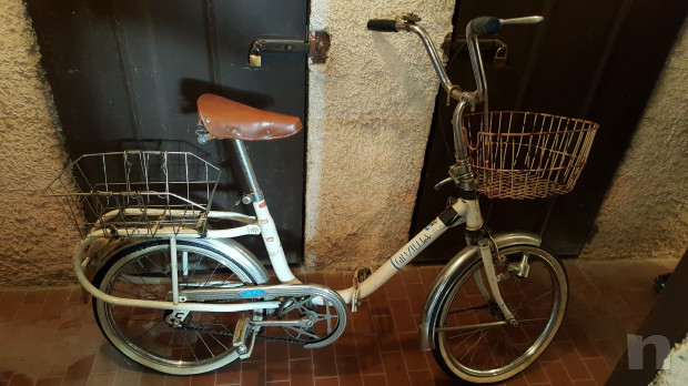 vendo bici d'epoca GRAZIELLA piegheghevole con freno contropedale foto-18928