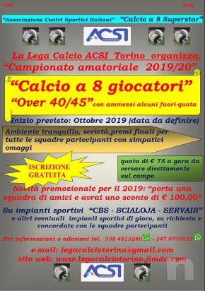 Squadre per Campionato amatoriale di calcio a 8 SUPERSTAR a Torino da Ottobre 2019 foto-36722