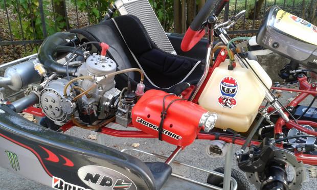 Kart 125 KZ motore TM K8 foto-36816