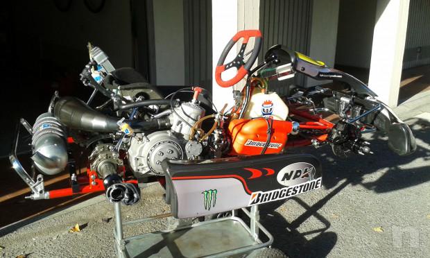 Kart 125 KZ motore TM K8 foto-36817