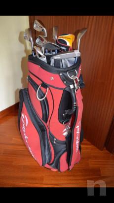 Sacca da golf con ferri foto-36921