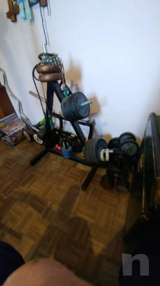 Dischi con gomma fassi sport piu porta dischi bilancieri e manubri foto-37085